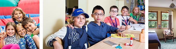 Bernardison Hall omogoča otrokom prijetno učenje angleščine.