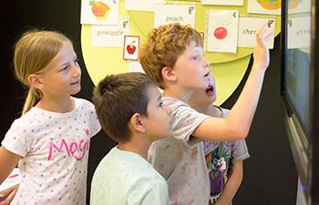 Jezikovni tečaji za otroke.