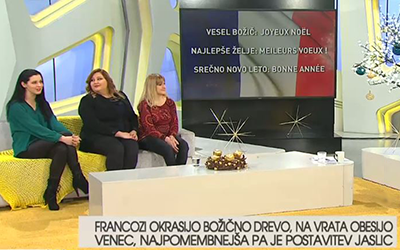 Francoščina na RTV SLO: Božične navade
