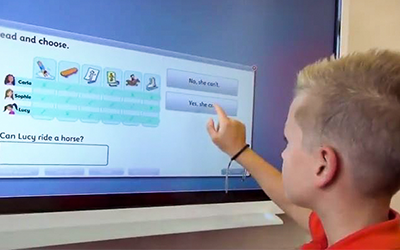 Interaktivno učenje angleščine za otroke