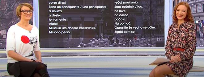 Italijanščina na RTV SLO.