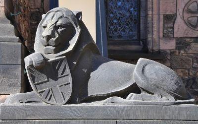 Živali kot nacionalni simboli Velike Britanije