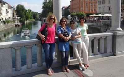 Tečaj angleščine na ulicah Ljubljane