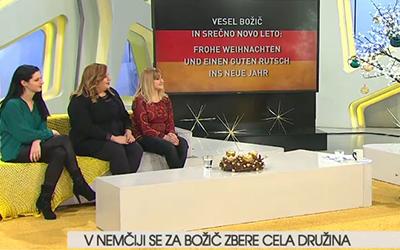 Nemščina na RTV SLO: Božične navade