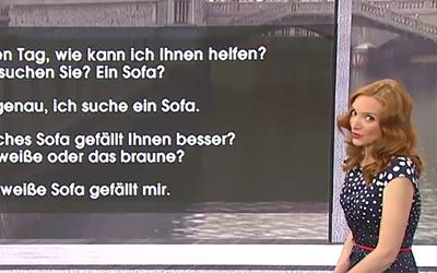 Nemščina na RTV SLO: Nakupovanje pohištva