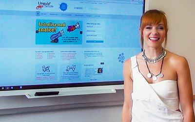 Nina Pušlar: Še učinkovitejše učenje s pomočjo zanimivih vsebin na interaktivnih zaslonih