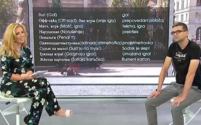 Ruščina na RTV SLO: Praktične fraze in nogometno prvenstvo