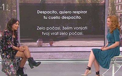 Španščina na RTV SLO: Pesem Despacito