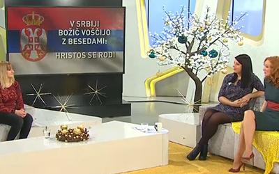 Srbščina na RTV SLO: Božične navade