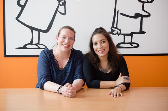 Tatiana in Maya, učiteljici španščine.