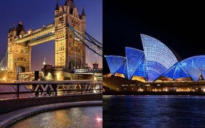 Življenje v Avstraliji ali Združenem kraljestvu?