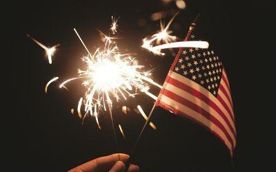 ZDA in novoletno praznovanje