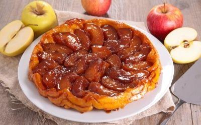 La tarte Tatin – obrnjena jabolčna pita