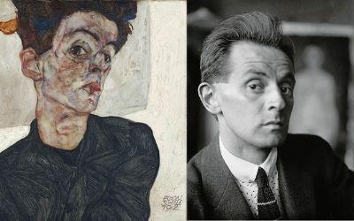 Egon Schiele, mojster skrivenčenih golih teles
