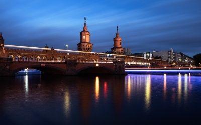 Berlin in najlepših pet mostov