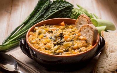 Ribollita – toskanska fižolova juha