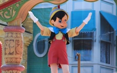 Pinocchio in zanimive fraze