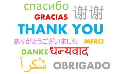 Prevajanje zahvale v hrvaščino
